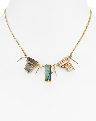 "Alexis Bittar Geometric Statement Necklace, 16"" $245 thestylecure.com"
