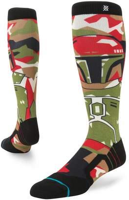 Star Wars Stance Socks Stance Boba Fett Snow Socks - Olive