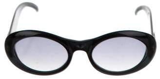 Gucci Gradient Round Sunglasses