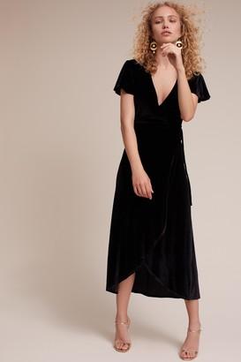 BHLDN Thrive Velvet Dress