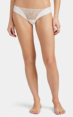 La Perla Women's Petite Jardin Bikini Briefs - White