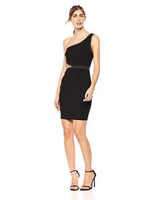 LIKELY Women's Portia Cutout Body Dress with Studs