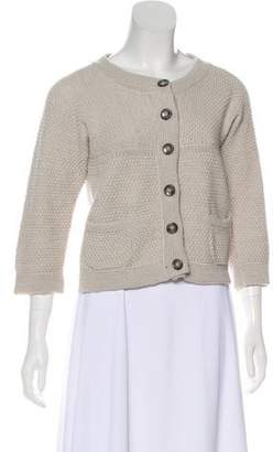Max Mara Weekend Wool Knit Cardigan