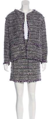 Chanel Wool-Blend Skirt Suit