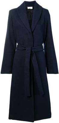 The Row long belted coat