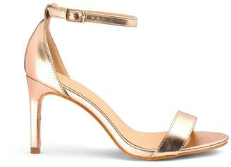 b411929b5a4 Wide Fit Gold Sandals - ShopStyle UK