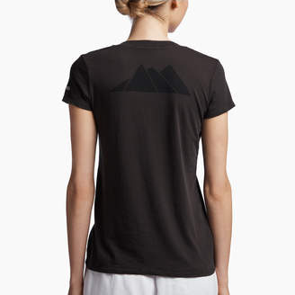 James Perse ASPEN MOUNTAINS GRAPHIC V-NECK
