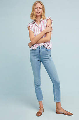 3x1 W4 Colette High-Rise Slim Cropped Jeans