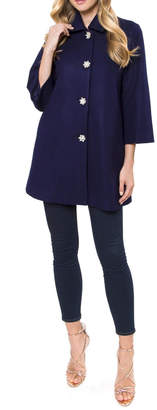 Julie Brown NYC Millie Jacket Royal-Blue