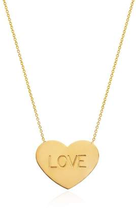 Johnny Was 14K Gold Large Heart Of Gold Love Necklace