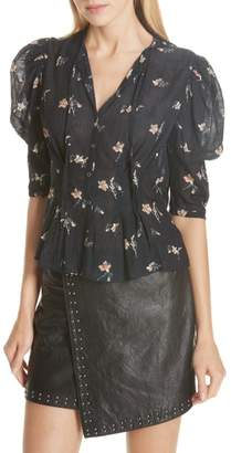 Joie Issane Floral Blouse