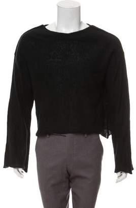 Julius Woven Scoop Neck Sweater