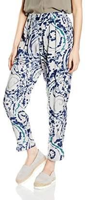Liebeskind Berlin Women's F1162256 Trousers, (Multi Beige 0702)