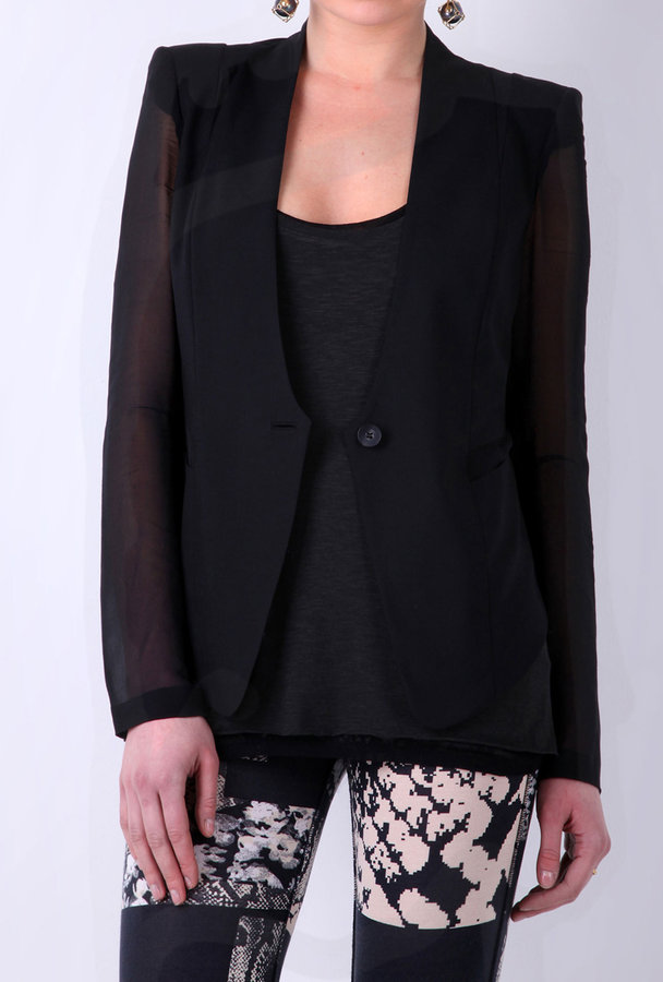 Helmut Lang Single Button Blazer