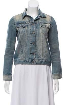 Jennifer Meyer Denim Button-Up Jacket