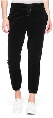 Juicy Couture Velour Lace Up Jogger