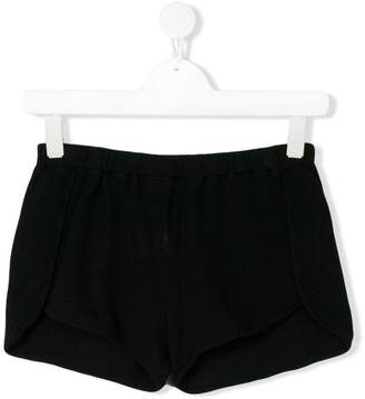 Andorine elasticated waist running shorts