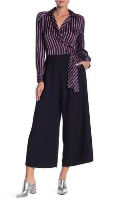 Dress Forum Wide Leg Woven Pants