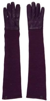 Chanel Knit Lambskin Gloves