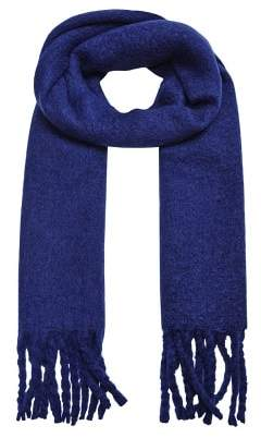 Violeta BY MANGO Textured maxi scarf