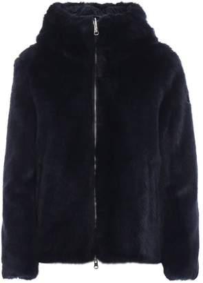 Colmar Blue Faux Fur Jacket