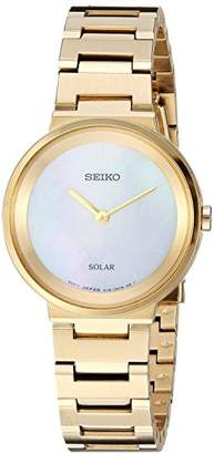 Seiko Women's 'Ladies' Quartz Stainless Steel Dress Watch