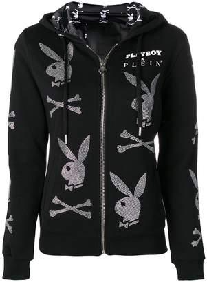 Philipp Plein Playboy hooded jacket
