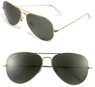 Ray-Ban 'Org Aviator' 62mm Sunglasses