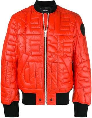 Diesel quilted jacket