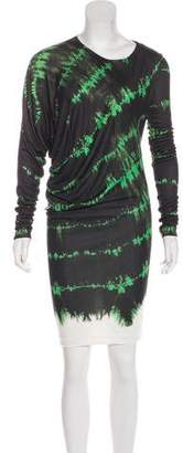 Stella McCartney Printed Asymmetrical Dress