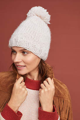 Anthropologie Wendy Pommed Beanie
