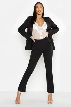 boohoo Woven Seam Detail Suit Trouser