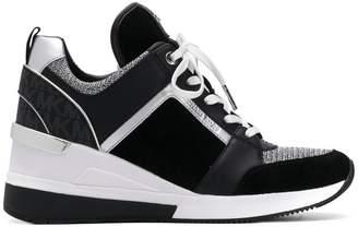 MICHAEL Michael Kors Georgie Mixed-Media sneakers