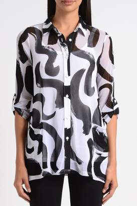 Lynn Ritchie Squiggle Flare Tunic