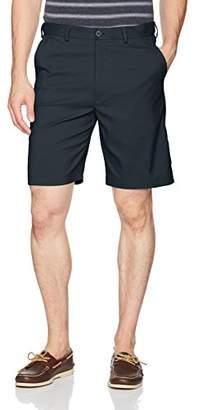 Savane Men's Flat Front Mirco Fiber Short