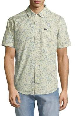 Brixton Printed Short Sleeve Woven Shirt