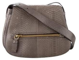 Tom Ford Python Jennifer Saddle Bag