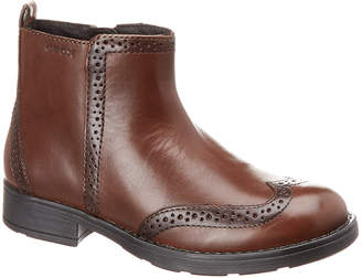 Geox Sofia Leather Ankle Boot