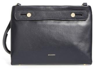 Skagen Mini Mikkeline Leather Satchel - Blue $195 thestylecure.com