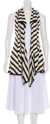 Diane von Furstenberg Silk Draped Vest