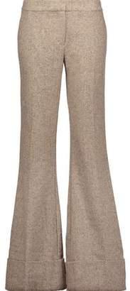 Co Wool-Tweed Flared Pants