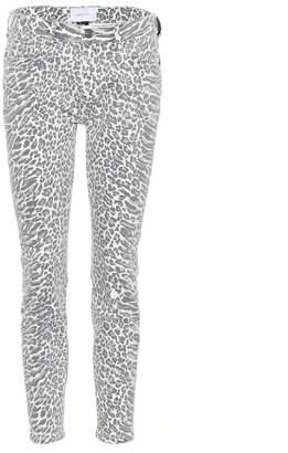 fe296ae85d93 Current/Elliott The Stiletto leopard skinny jeans