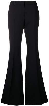 Alexander McQueen high waisted flared trousers