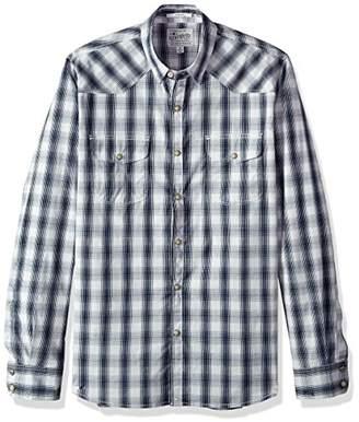 Lucky Brand Men's Button Up Western Shirt