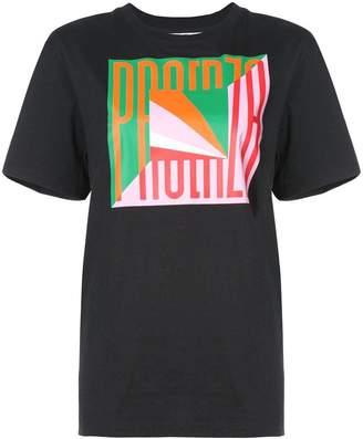 Proenza Schouler PSWL Flag T-Shirt