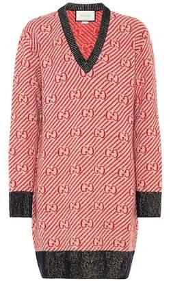 Gucci GG striped sweater dress