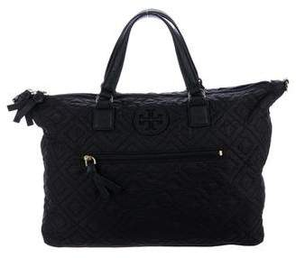 Tory Burch Ella Quilted Satchel