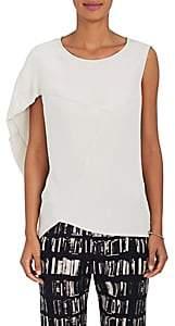 Zero Maria Cornejo Women's Amale Silk Blouse - White