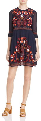 FRENCH CONNECTION Kiko Embroidered Dress - 100% Exclusive $228 thestylecure.com