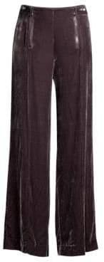Nanette Lepore Hatif Wide-Leg Velvet Pants